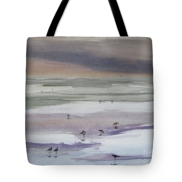Shoreline Birds II Tote Bag