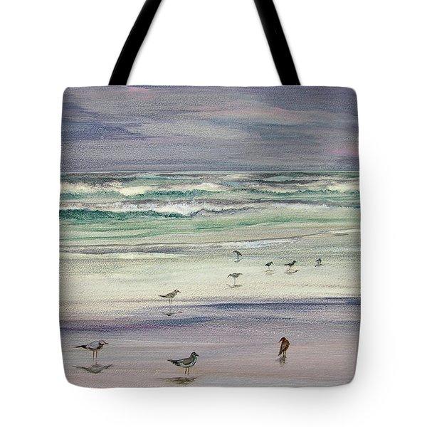 Shoreline Birds IIi Tote Bag