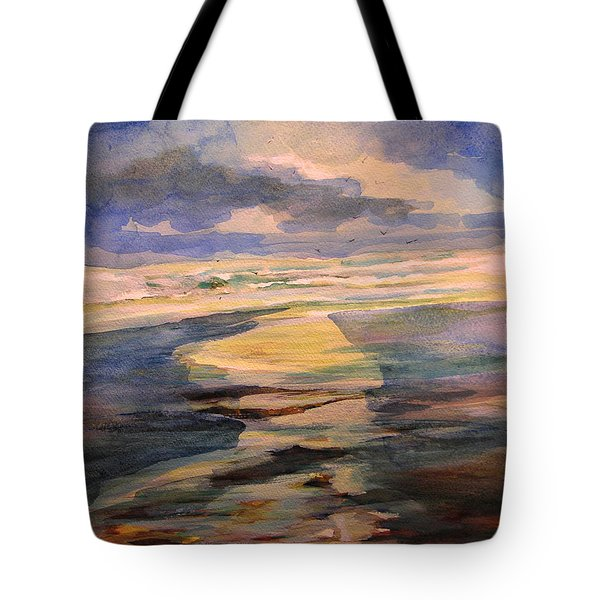 Shoreline Sunrise 11-9-14 Tote Bag
