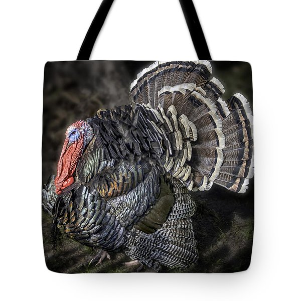 Short Feathers Tom Tote Bag