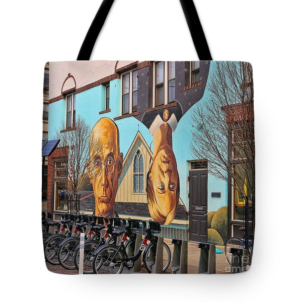 Short North Mural 4673 Tote Bag by Jack Schultz