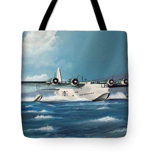 Short Sunderland Tote Bag by Richard Wheatland