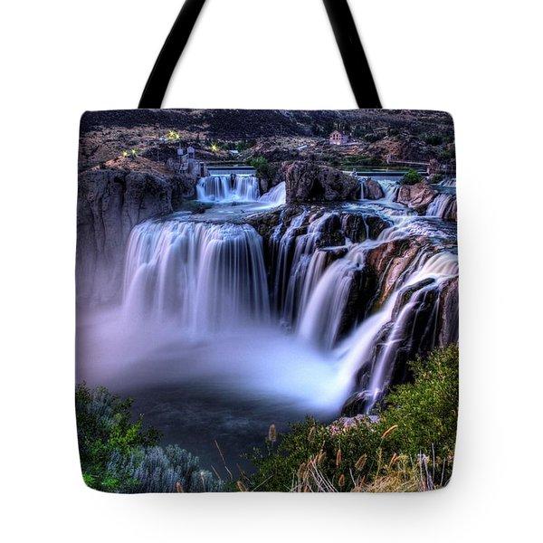 Shoshone Falls Tote Bag