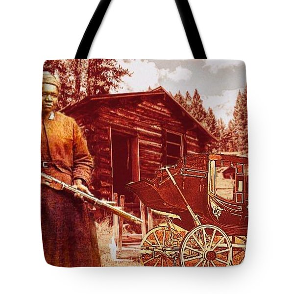 Shotgun Mary Tote Bag