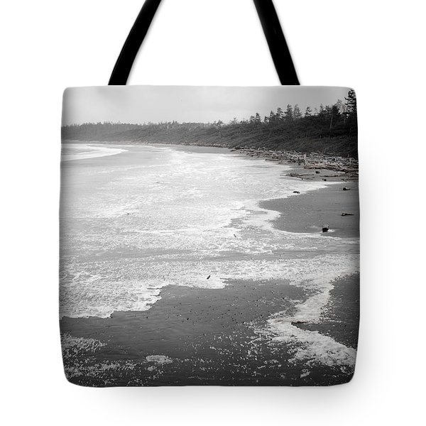 Winter At Wickaninnish Beach Tote Bag