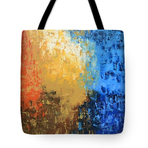 Tote Bag featuring the painting Show Me Your Glory by Linda Bailey