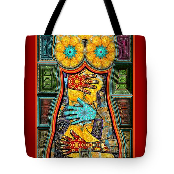 Show Of Hands Tote Bag by Joseph J Stevens