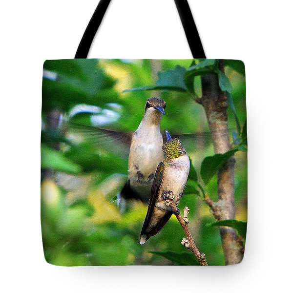 Showing Off Tote Bag