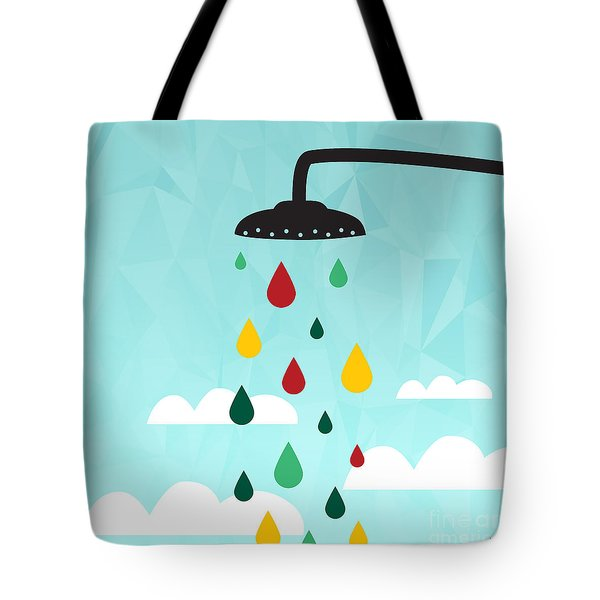 Shower  Tote Bag by Mark Ashkenazi