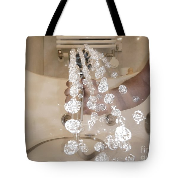 Shower Tote Bag by Mats Silvan