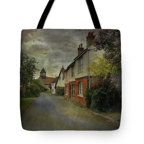 Showers Tote Bag by Fran J Scott