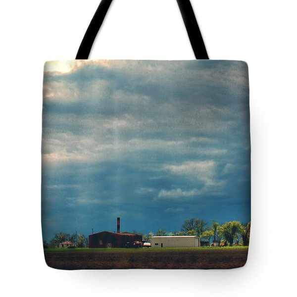 Showers Of Blessings Tote Bag by Bonnie Willis