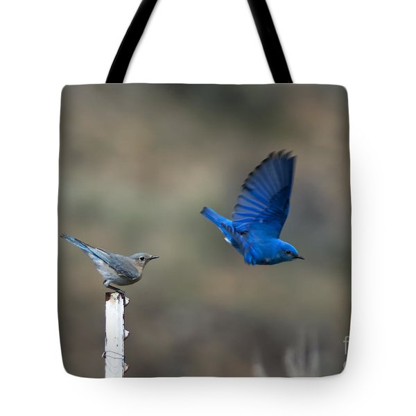 Showing Off Tote Bag by Mike  Dawson