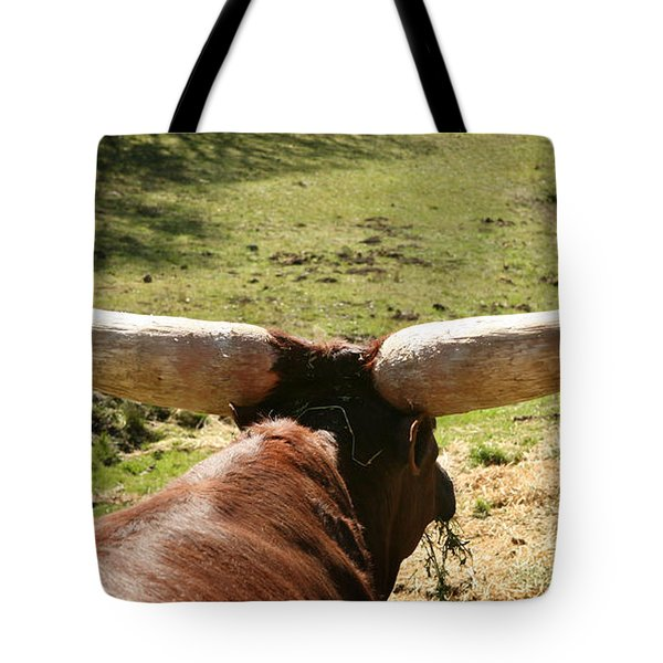 Tote Bag featuring the photograph Showing Off My Rack by Carol Lynn Coronios