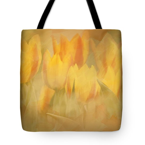 Showtime Tulips Tote Bag