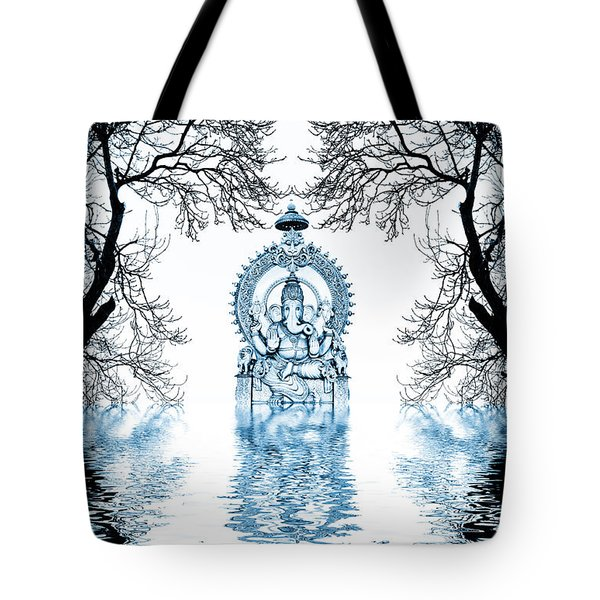 Shri Ganapati Deva Tote Bag