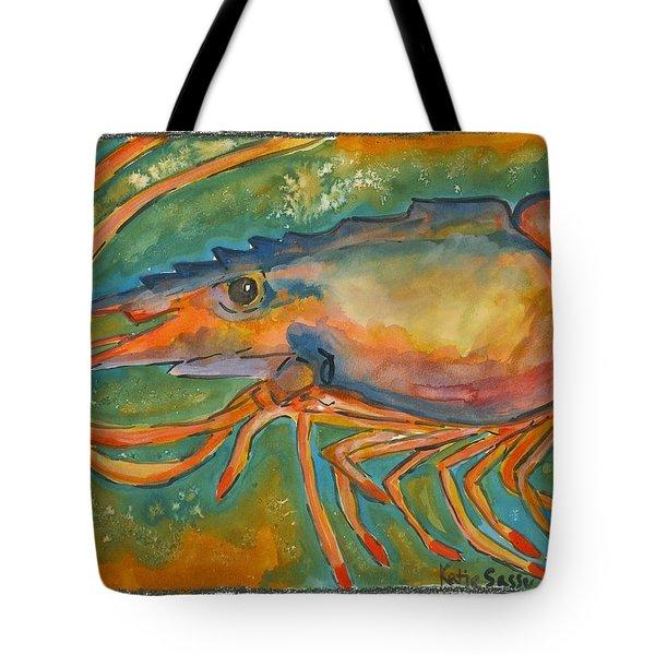 Shrimp Head Tote Bag