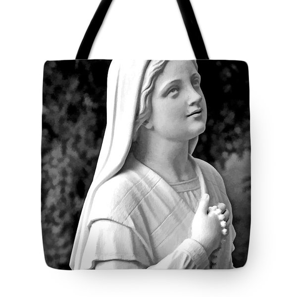Shrine In Maine Tote Bag