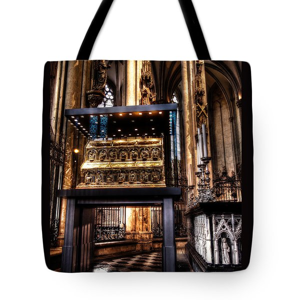 Tote Bag featuring the photograph Shrine Of The Three Kings by Jim Hill