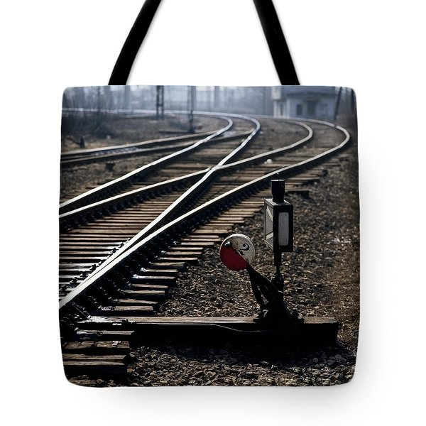 Shunt Tote Bag by Juan Carlos Ferro Duque