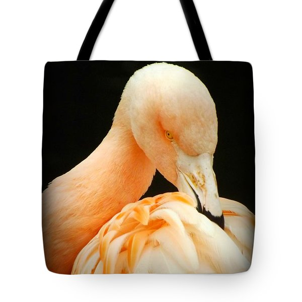 Tote Bag featuring the photograph Shy by Clare Bevan