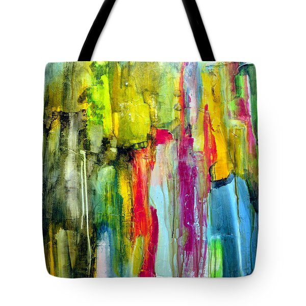 Tote Bag featuring the painting Shy by Katie Black