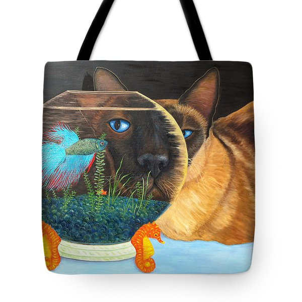 Siam I Am Tote Bag