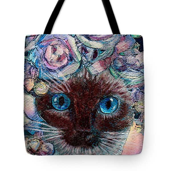 Siamese Bride Tote Bag