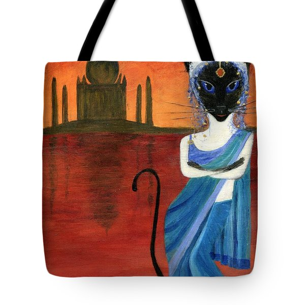Siamese Queen Of India Tote Bag by Jamie Frier