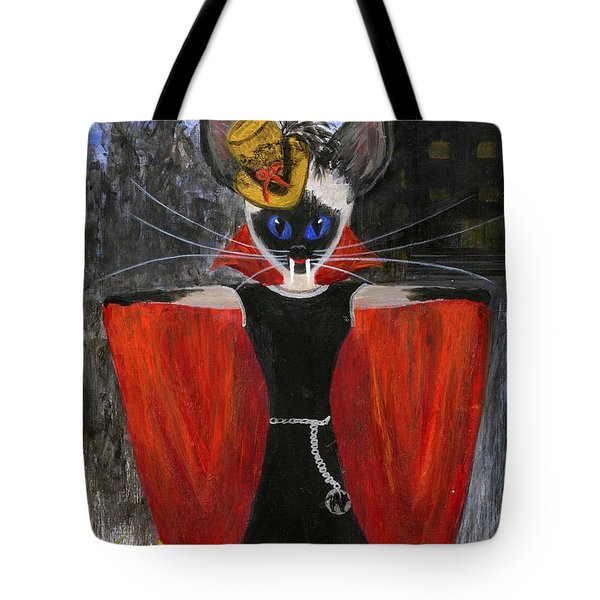Siamese Queen Of Transylvania Tote Bag by Jamie Frier