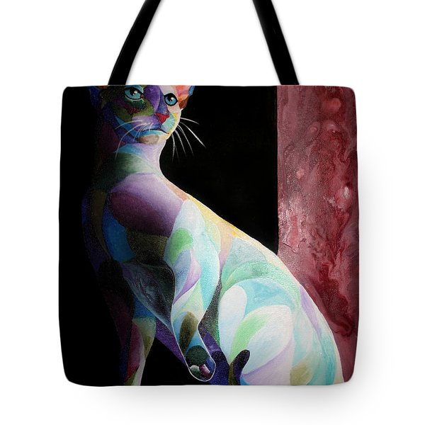 Siamese Shadow Cat 1 Tote Bag