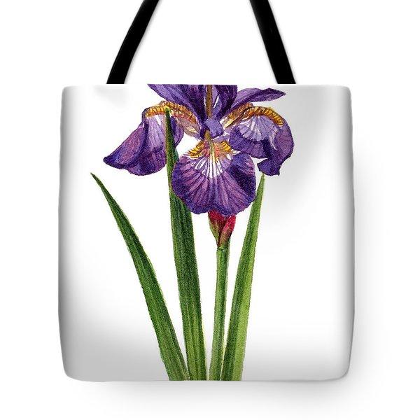 Siberian Iris II - Iris Sibirica Tote Bag