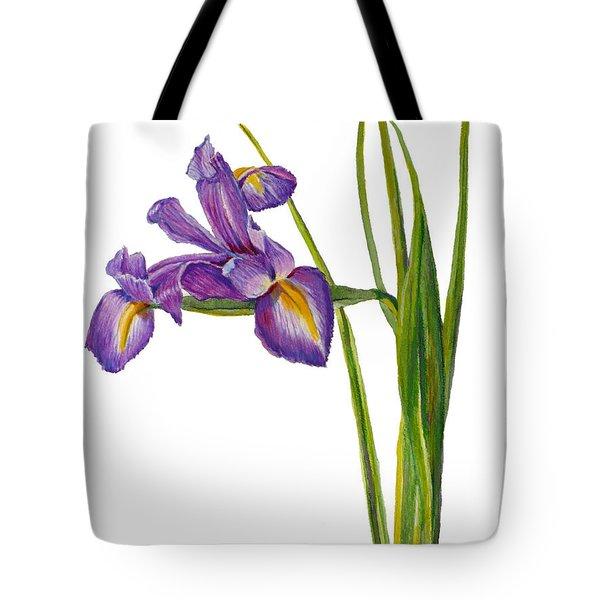 Siberian Iris - Iris Sibirica Tote Bag