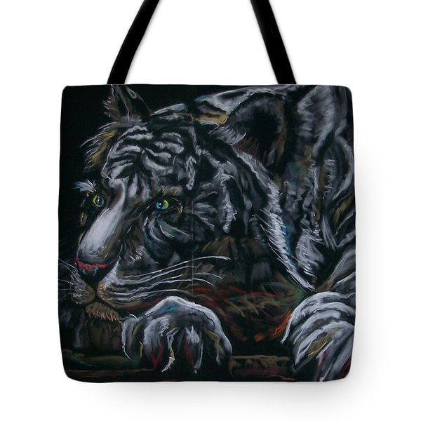 Siberian Tiger Tote Bag by Peter Suhocke