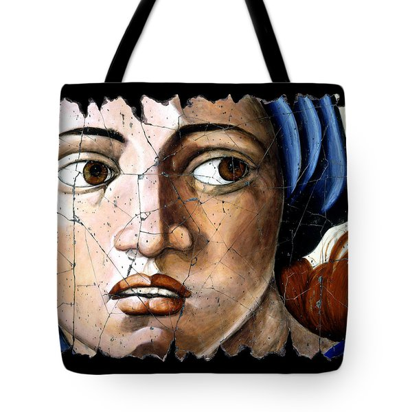 Sibyl Of Delphi Tote Bag by Steve Bogdanoff