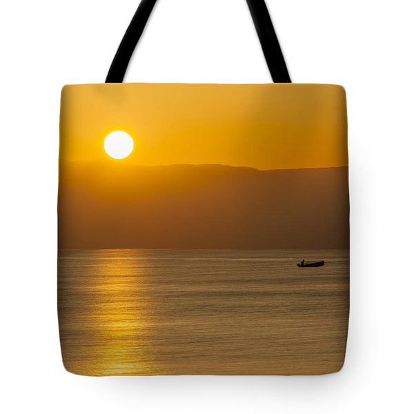 Sicilian Dawn Tote Bag