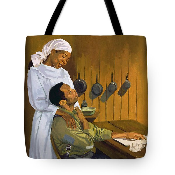 Side By Side Tote Bag by Colin Bootman