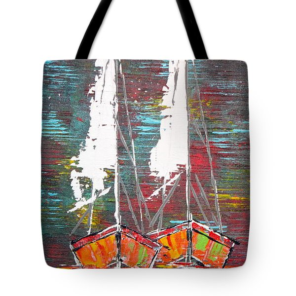 Side By Side - Sold Tote Bag