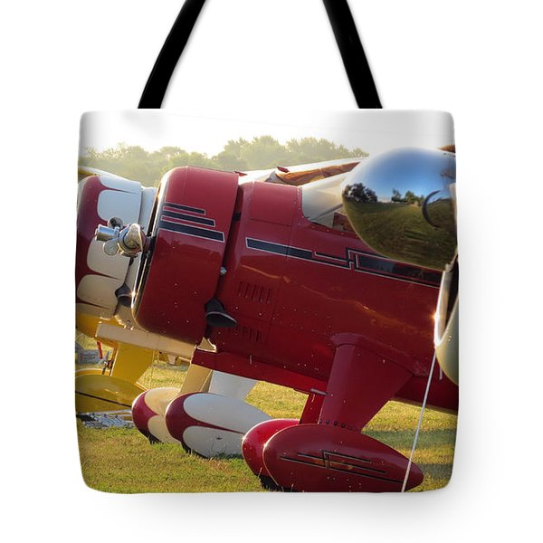 Side By Side. Oshkosh 2012 Tote Bag