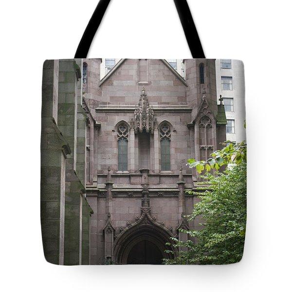 Side Entrance Tote Bag by Teresa Mucha