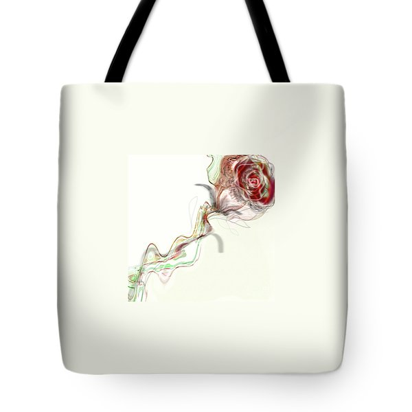 Side Rose Tote Bag