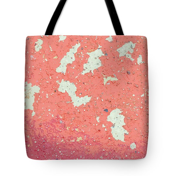 Tote Bag featuring the photograph Sidewalk Abstract-7 by Art Block Collections