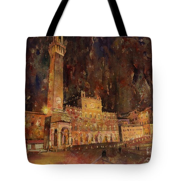 Siena Sunset Tote Bag by Ryan Fox