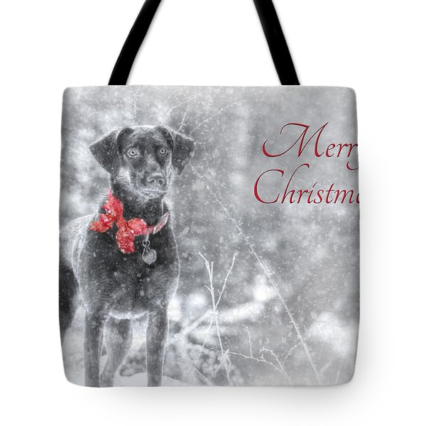 Sienna - Merry Christmas Tote Bag by Lori Deiter