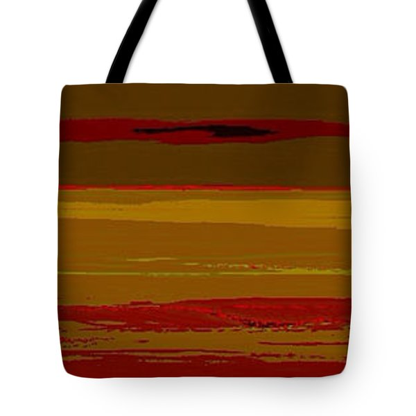 Tote Bag featuring the digital art Sienna Vista by Anthony Fishburne