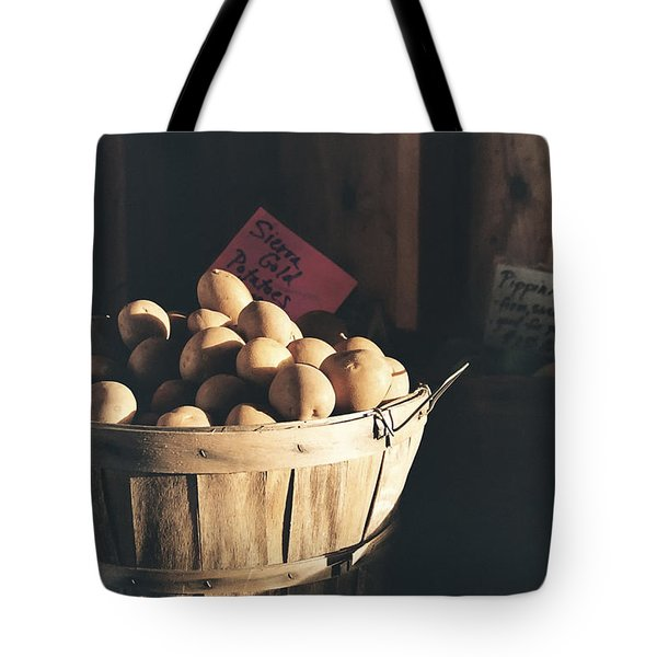Sierra Gold Tote Bag by Caitlyn  Grasso