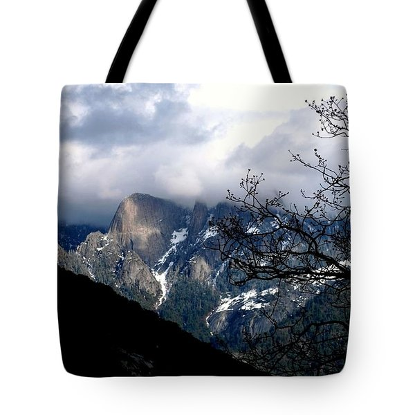 Tote Bag featuring the photograph Sierra Nevada Snowy View by Matt Harang