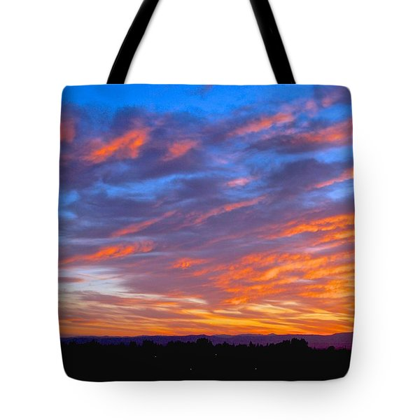 Sierra Nevada Sunrise Tote Bag