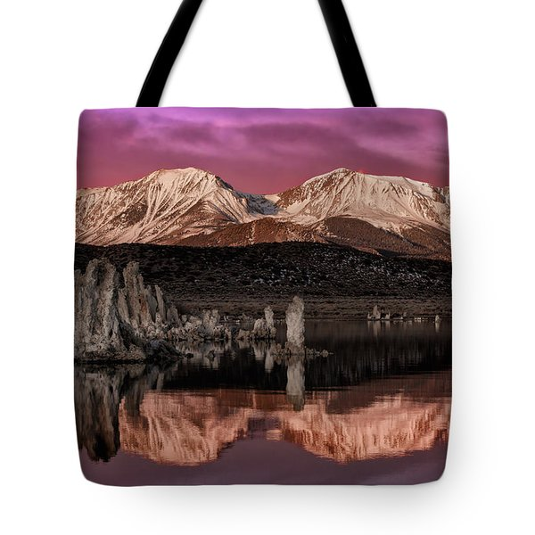 Sierra Sunrise Tote Bag
