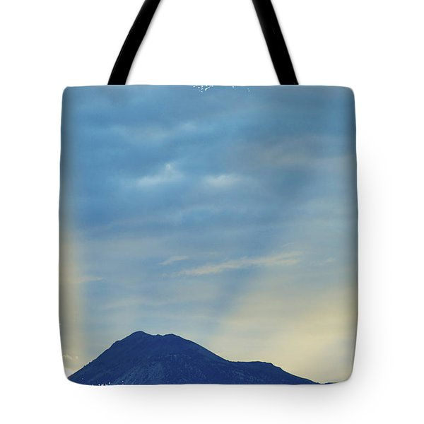 Sierra Sunset Tote Bag